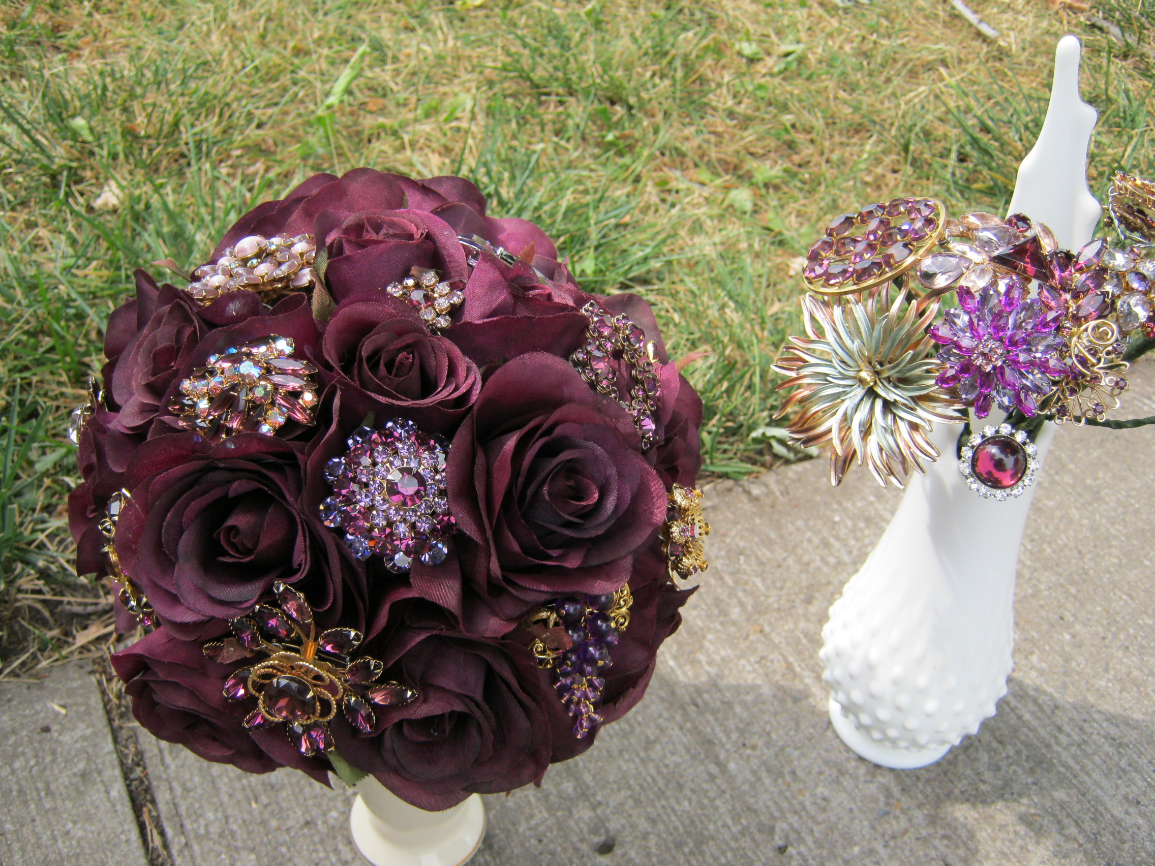 Beginnings Of My Brooch Bouquet What Do You Think
