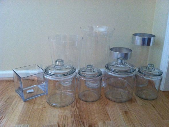 FOR SALE: Cookie Jars and Various Reception Decor! — The Knot