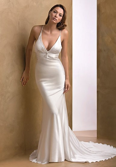 Modern Sheath Wedding Dresses, Fall 2012 Bridal Fashion Week ...