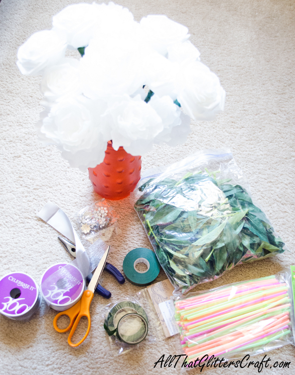 Tutorial: How to wrap a coffee filter flower bouquet *VERY Pic heavy*