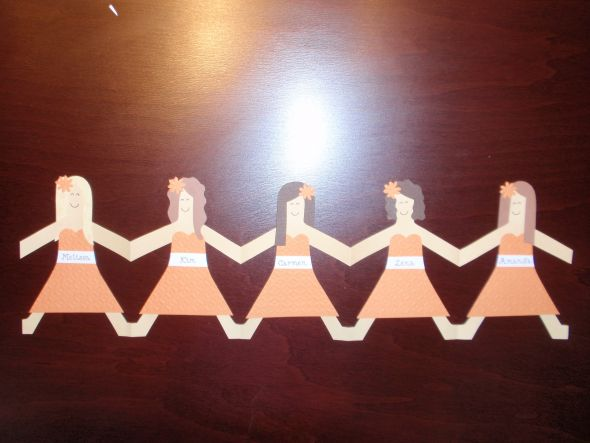 Will you be my bridesmaid? Paper Dolls