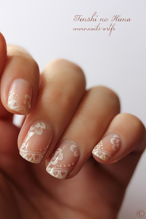 Lace Nails: Inspiration vs. Reality