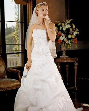 David's Bridal Weddings Dress