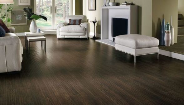 Dark Laminate Wood Flooring 590 x 337