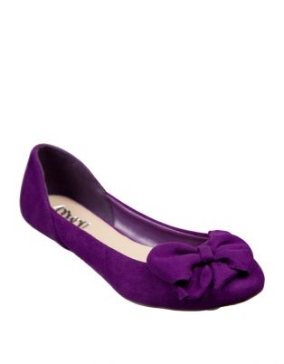 Calling all Fashionistas :  wedding accessories belle 217 hair jewelry shoes Purple Flats1