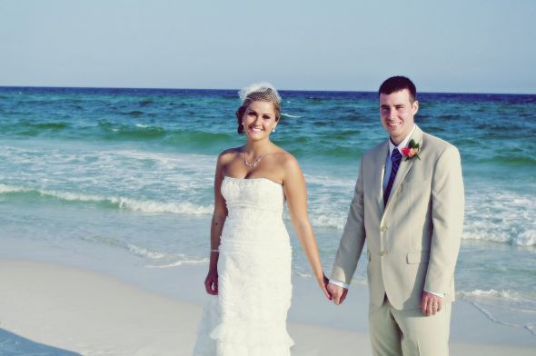 "Our ""Destin""ation wedding!"