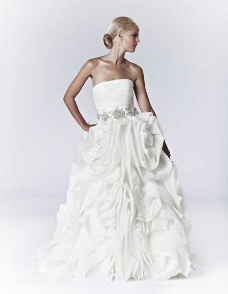 The Second Dress :  wedding college park wedding dress 