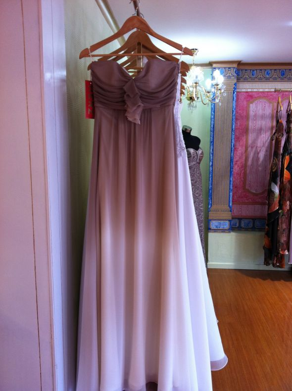 Ombré bridesmaid dress