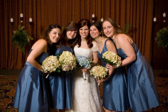 Ann Taylor Dresses in Pacific Blue wedding ann taylor bm dresses 0417