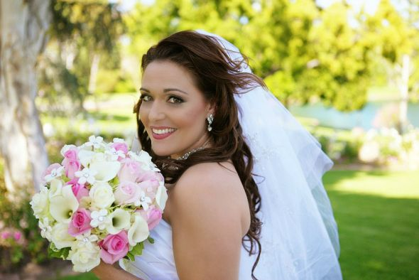 Was IN LOVE with My wedding make-up :  wedding makeup Martinez0911 2