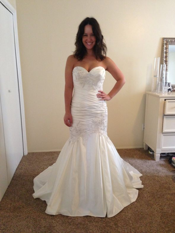 allure exclusive wedding dress!