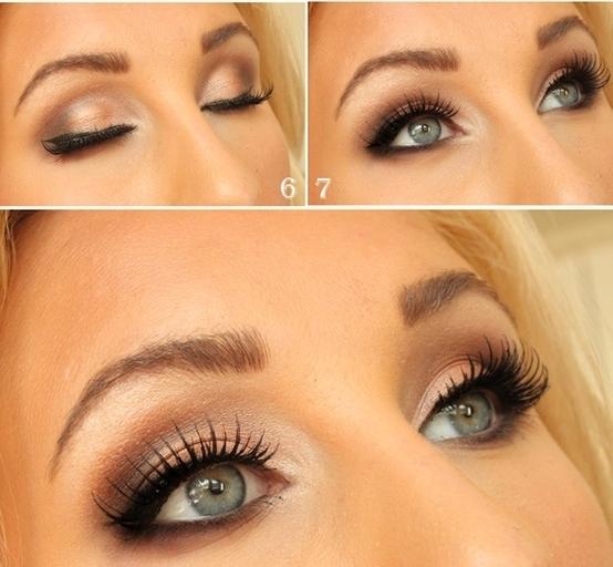 Shimmery Light Brown Smokey Eye Inspiration – Post Pics of ...