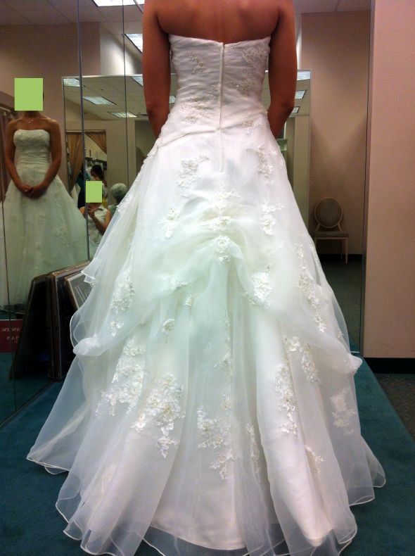 Wedding Gown Bustle