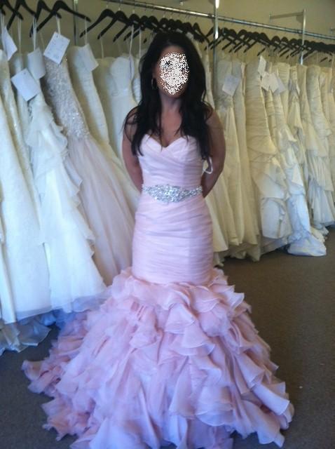 Calling All Brides Wearing A Blush Or Pink Wedding Dress