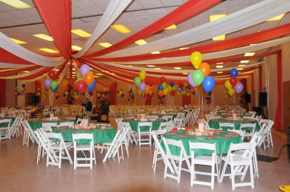 How to decorate an ugly venue junglespirit Image collections