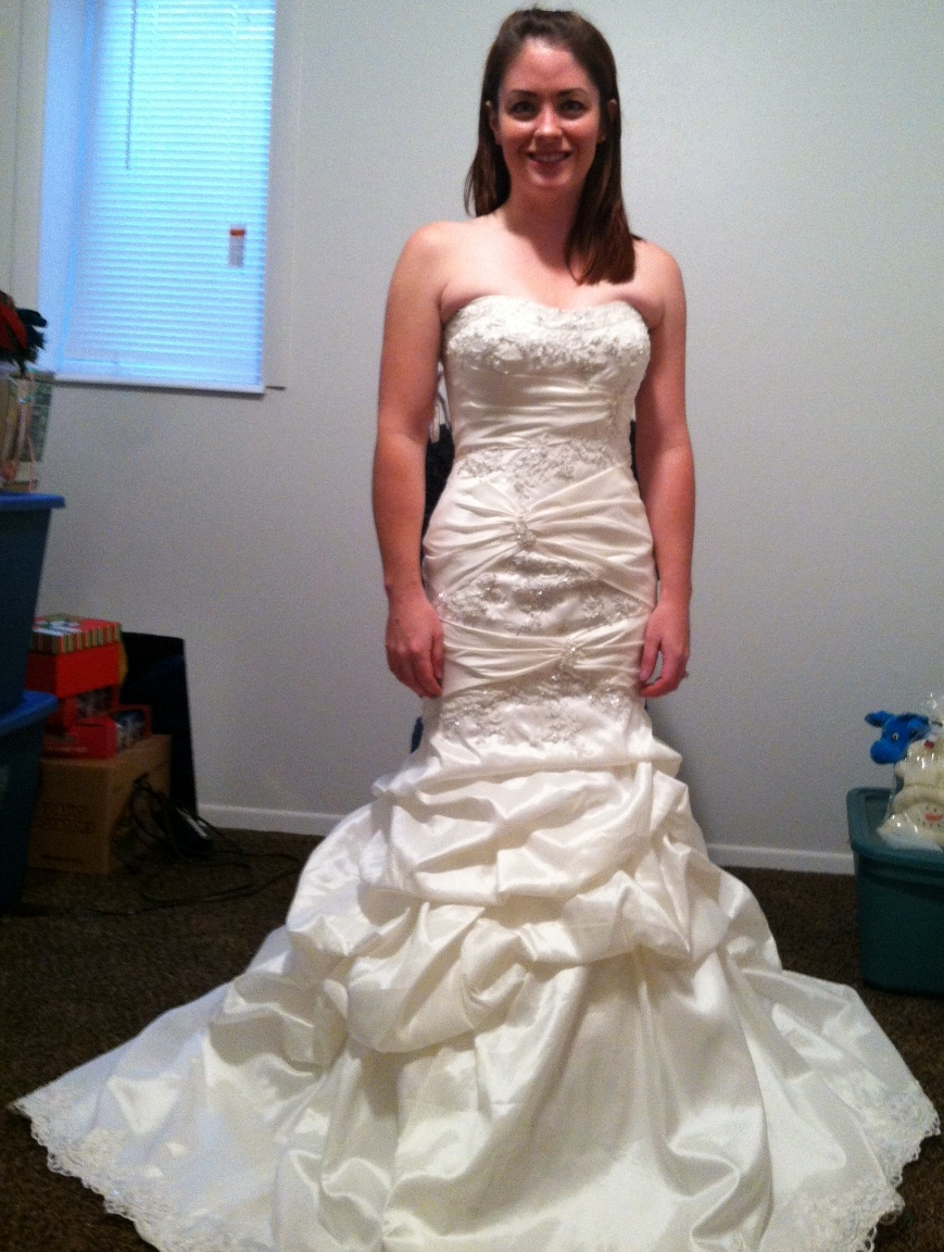 Wedding gown alternations corset back and bustle ombrellifo Image collections