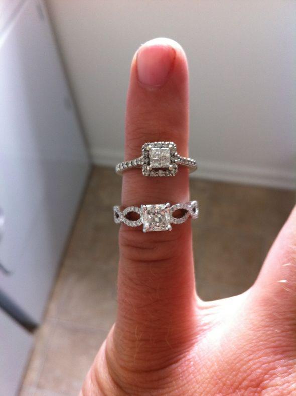 engagement ring vs promise ring weddingbee