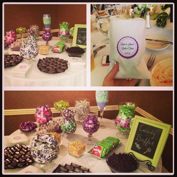 Diy Wedding Reception Buffet Ideas: DIY Reception Decorations And Favors