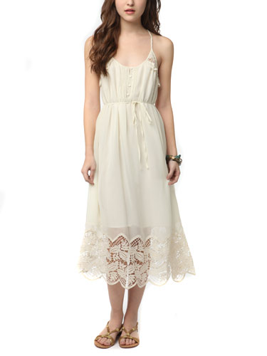 Could i wear this dress for casual outdoor barn wedding for Urban outfitters wedding dresses