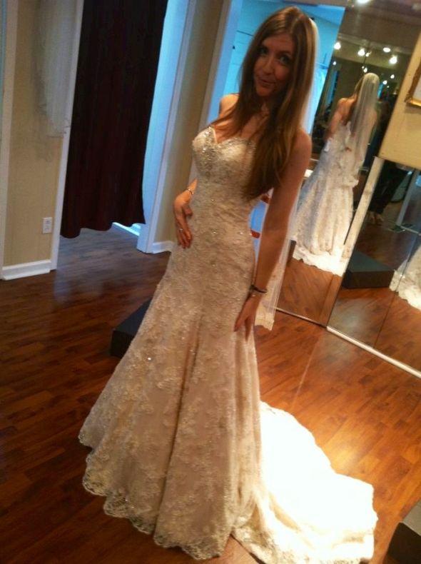 I found my dress!!!! Allure 8958 – I\'m in love!