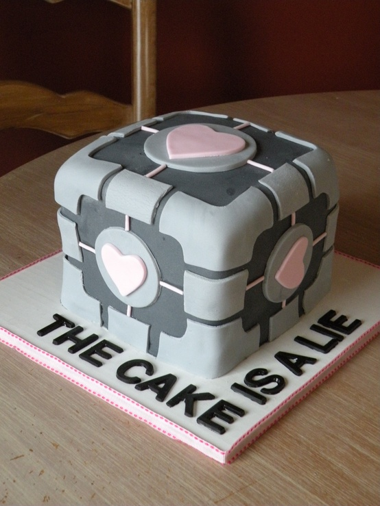 Cake size for grooms cake i also decided to get a grooms cake as a surprise for my fiance it is from one of his video games junglespirit Choice Image