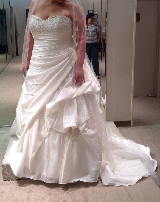 How much did you spend on your wedding dress weddingbee for How much to spend on wedding dress