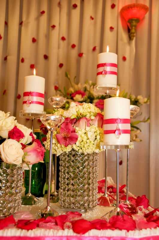 Bride Groom Wedding Table Ideas : Our reception decorations for bride groom table