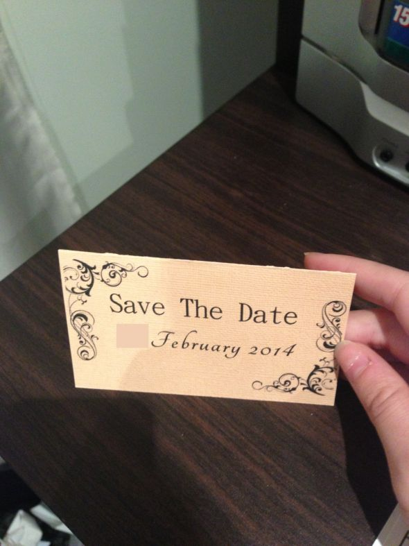 My Save the Dates!!! (Pic Heavy)