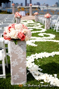 Help pick our ceremony decorations! Please!