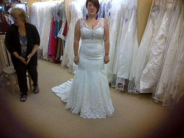 My dress, at last :) anymore sottero and midgley \