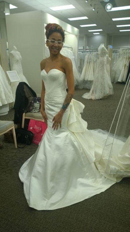 Ill be a zac posen bride!