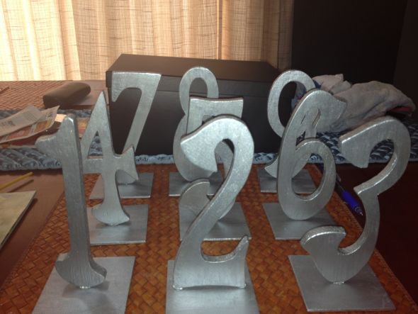 table numbers, yay