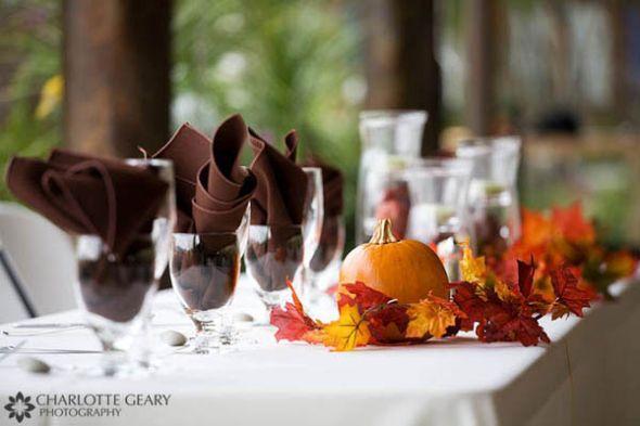 Unique Fall Wedding Centerpieces: Unique Fall Wedding