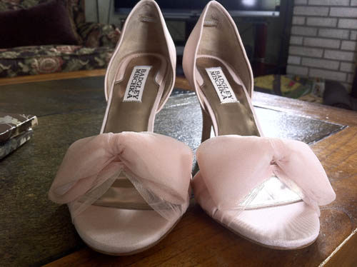Wedding Shoes-- Badgley Mishka