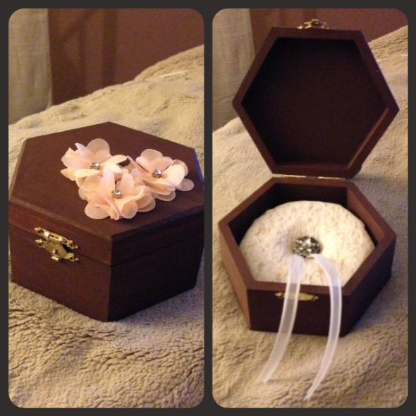 Ring bearer box weddingbee photo gallery for Diy ring bearer