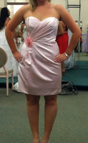 Bridesmaid dresses are in.