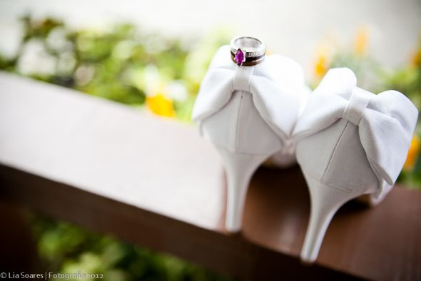 My shoes. :  wedding ring shoes white Shoes