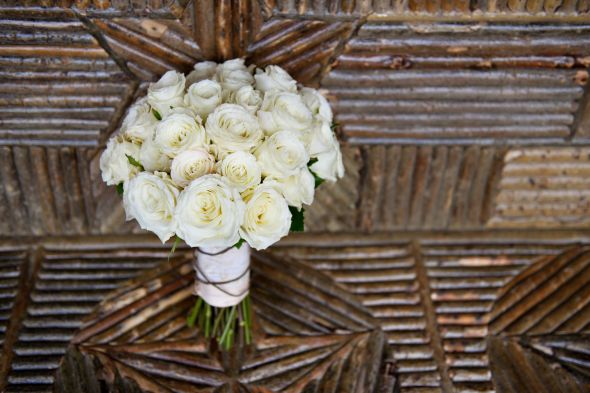 Rustic Wedding Bouquet :  wedding bouquet brown flowers white Wren Lawler WED 0720