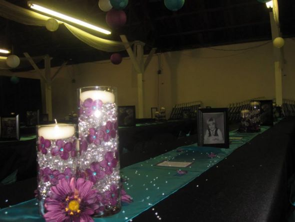 Our Cylinder Center Pieces