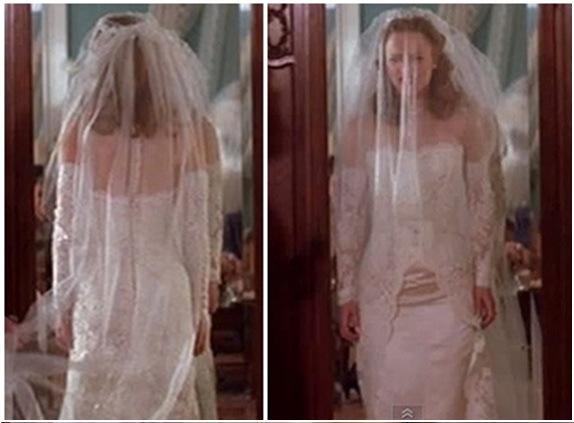 post your dream movie wedding dress weddingbee