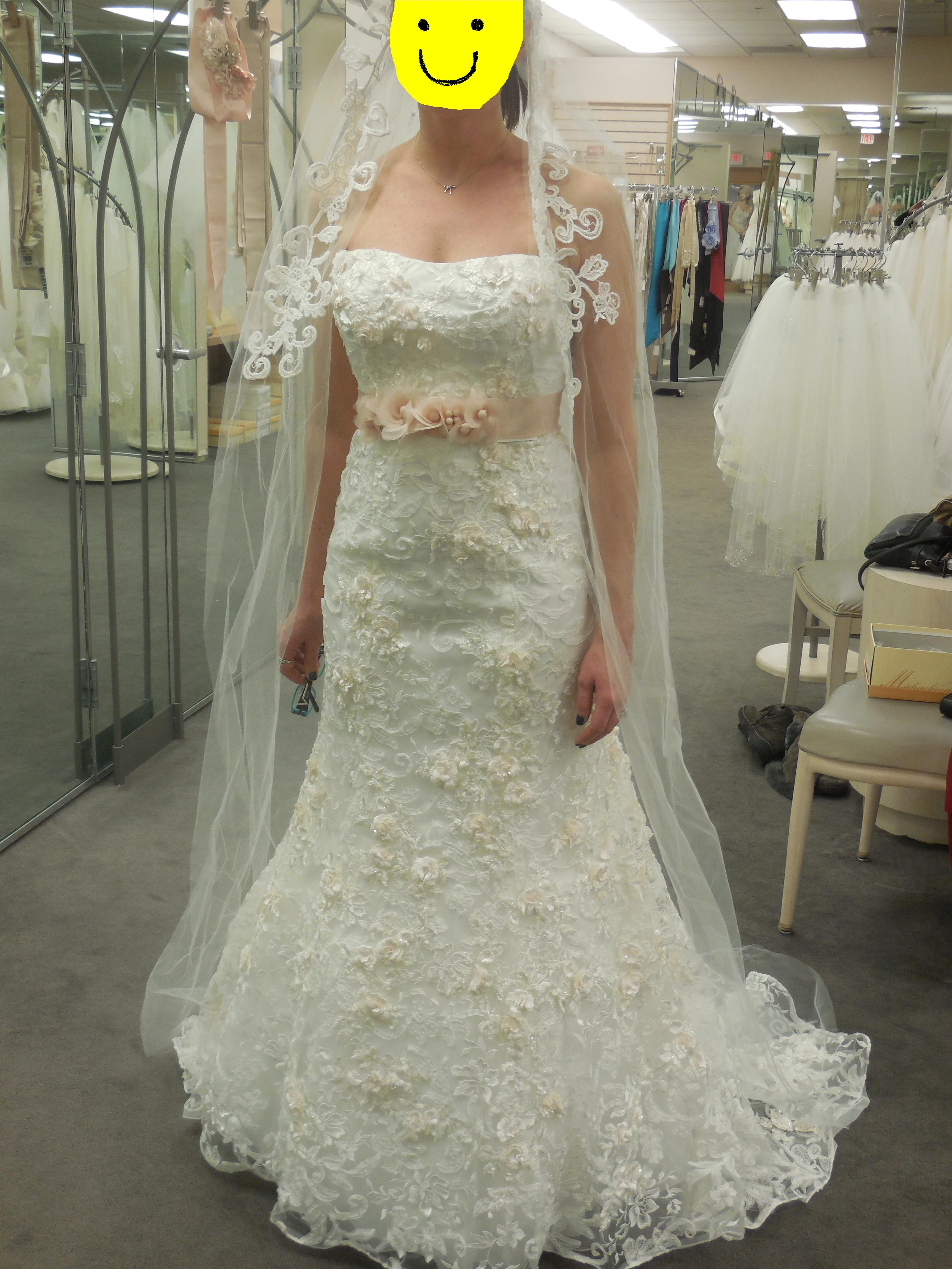 Help Wedding jewelry dress picwhat to wear Anyone have this dress