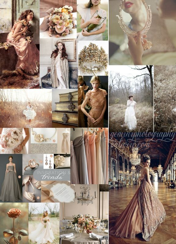 Antique Romantic Inspiration Board