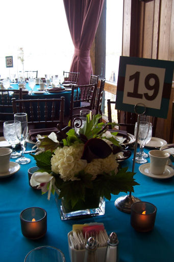 Floating Orchid Centerpiece Short Centerpieces wedding floating orchid