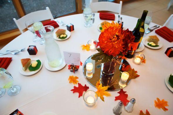 Fall DIY Centerpieces Weddingbee Photo Gallery