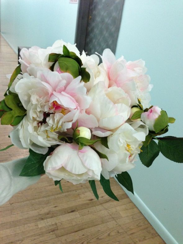 Silk flower bouquet, does it look real?? Picture heavy! Opinions ...