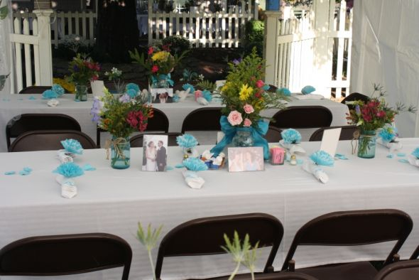 Blue Mason Jars wedding blue mason jars pint Blue Mason Jars2