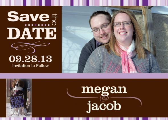 Our Save the Dates!!!