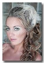 Side swept :  wedding side swept teal wedding hair Wedding Hair Bird Cage Up Dp
