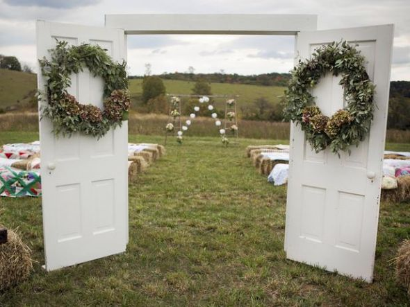 Diy Bridal Entrance Doors
