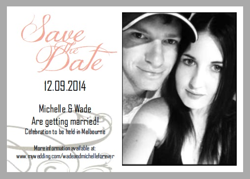 Simple Save The Dates